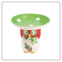 Holiday Hoot Candy Dish
