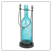 Carrington Bottle Candleholder