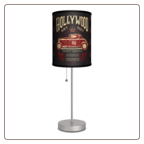 Hollywood Hot Rods Lamp