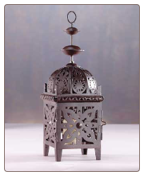 Moroccan Style Candle Lantern