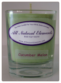 9Oz Soy Wax Candle By All Natural Elements