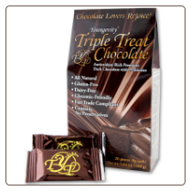 Triple Treat Box of Probiotic Chocolate